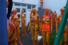 """Installation """"Broken"""" - von Dennis Josef Meseg - Standort  Bonn Frauenmuseum"""