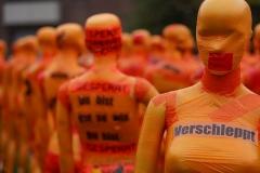 """Installation """"Broken"""" - von Dennis Josef Meseg - Standort  Düsseldorf Landtag"""