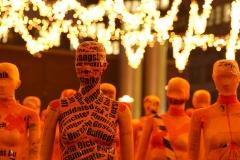 """Installation """"Broken"""" - von Dennis Josef Meseg - Standort  Essen Kennedyplatz"""