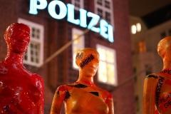 """Installation """"Broken"""" - von Dennis Josef Meseg - Standort  Hamburg Spielbudenplatz"""