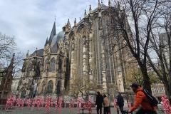 """Installation """"It is like it is"""" - von Dennis Josef Meseg - Standort Aachen Münsterplatz"""