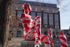"Installation ""It is like it is"" - von Dennis Josef Meseg - Standort Dortmund Averdunkplatz"