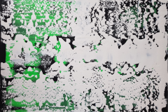 Abstrakte Arbeit 2/2 - 2019 - Acryl auf Leinwand 100x70cm