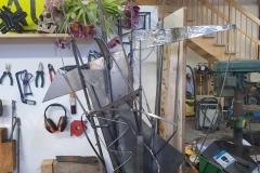 O.T. Stahlplastik 135cm