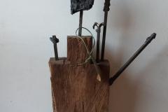 Your Master calls - Holz-Stahl-Plastik 65cm