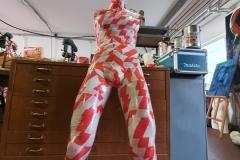 Entstehung Corona-Mahnmal 2020 - Atelier Wesseling - Die Angst des Einzelnen