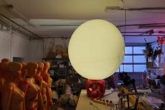 """Installation """"Raum einnehmen IV – Raum nehmen / Raum geben"""" - von Dennis Josef Meseg"""