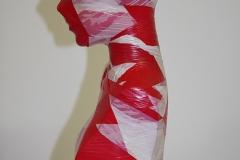 Flatterband Torso No.1 - Unikat - Höhe: ca. 50 cm handsigniert - von Dennis Josef Meseg