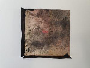 Ghosts - 15x15cm - Pergament und Acryl