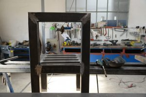 Kunst - Dennis Josef Meseg - Stahlplastik Besinnlichkeiten