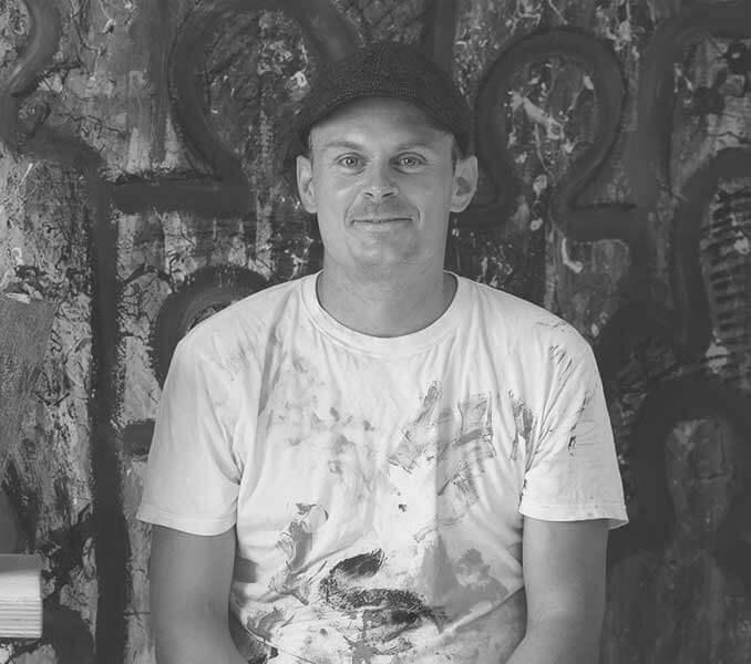 Der Künstler Dennis Josef Meseg