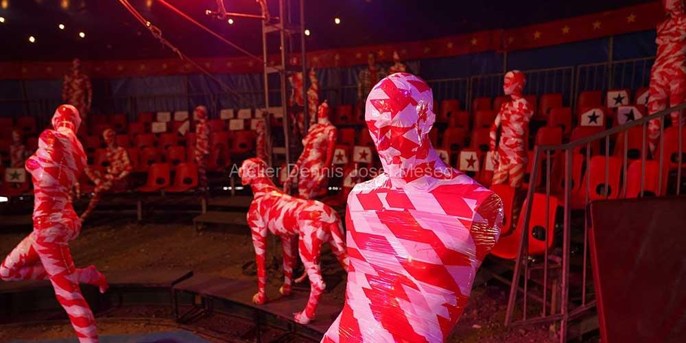 """Installation """"It is like it is"""" - von Dennis Josef Meseg - Standort Circus Soluna"""