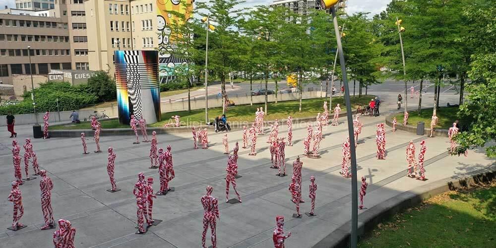 """Installation """"It is like it is"""" - von Dennis Josef Meseg - Standort Dortmund"""