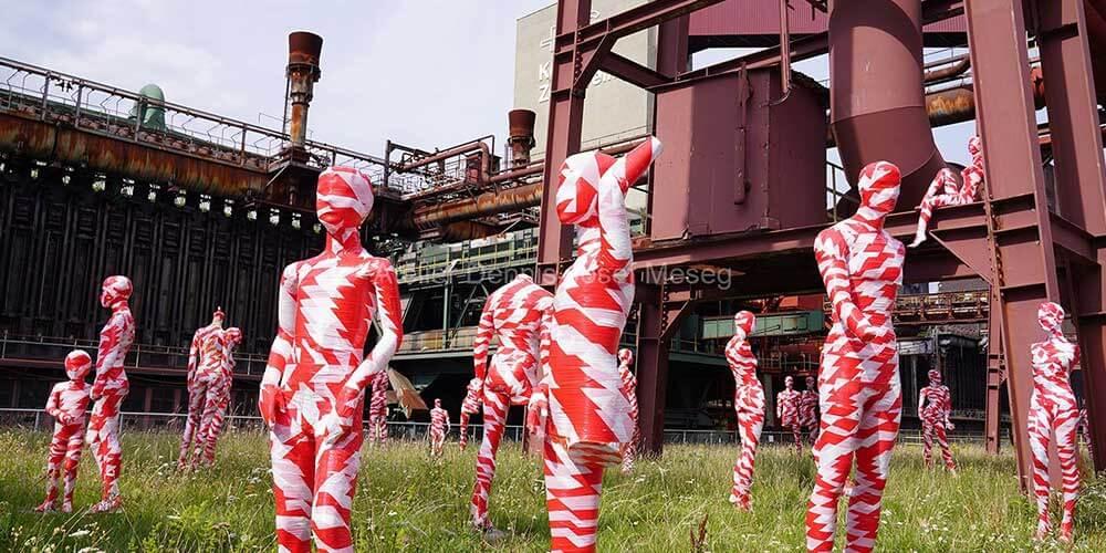 """Installation """"It is like it is"""" - von Dennis Josef Meseg - Standort Essen"""