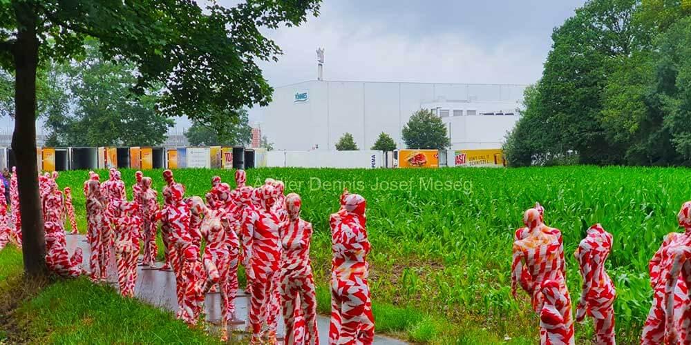 """Installation """"It is like it is"""" - von Dennis Josef Meseg - Standort Rheda-Wiedenbrück Tönnies"""
