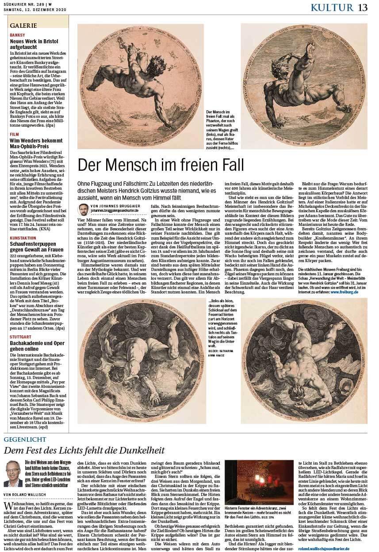"""Installation """"Broken"""" - von Dennis Josef Meseg - Südkurier Konstanz 12.12.2020"""
