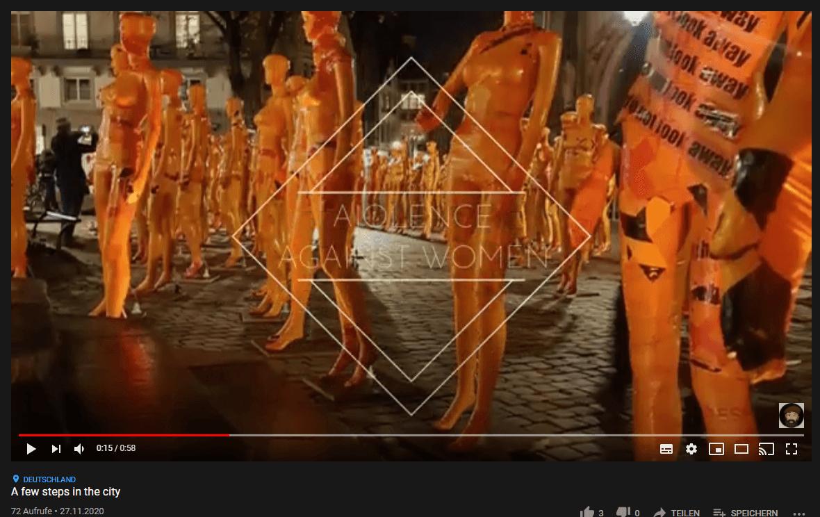 """Installation """"Broken"""" - von Dennis Josef Meseg - Screenshot Youtube"""