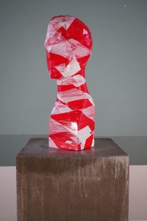 Flatterband Torso No. 3 - Unikat; Handsigniert; Höhe: ca. 40 cm - von Dennis Josef Meseg
