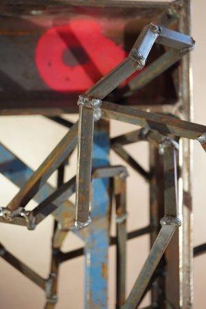 Timeless - Stahl ca. 60kg und Spraylac - von Dennis Josef Meseg