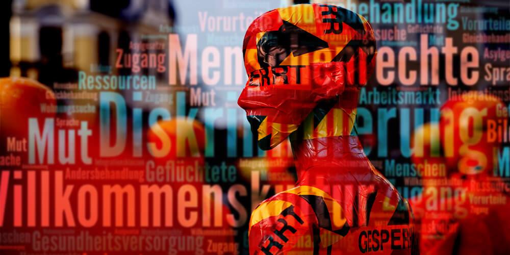 """Installation """"Broken"""" - von Dennis Josef Meseg - Stuttgart"""