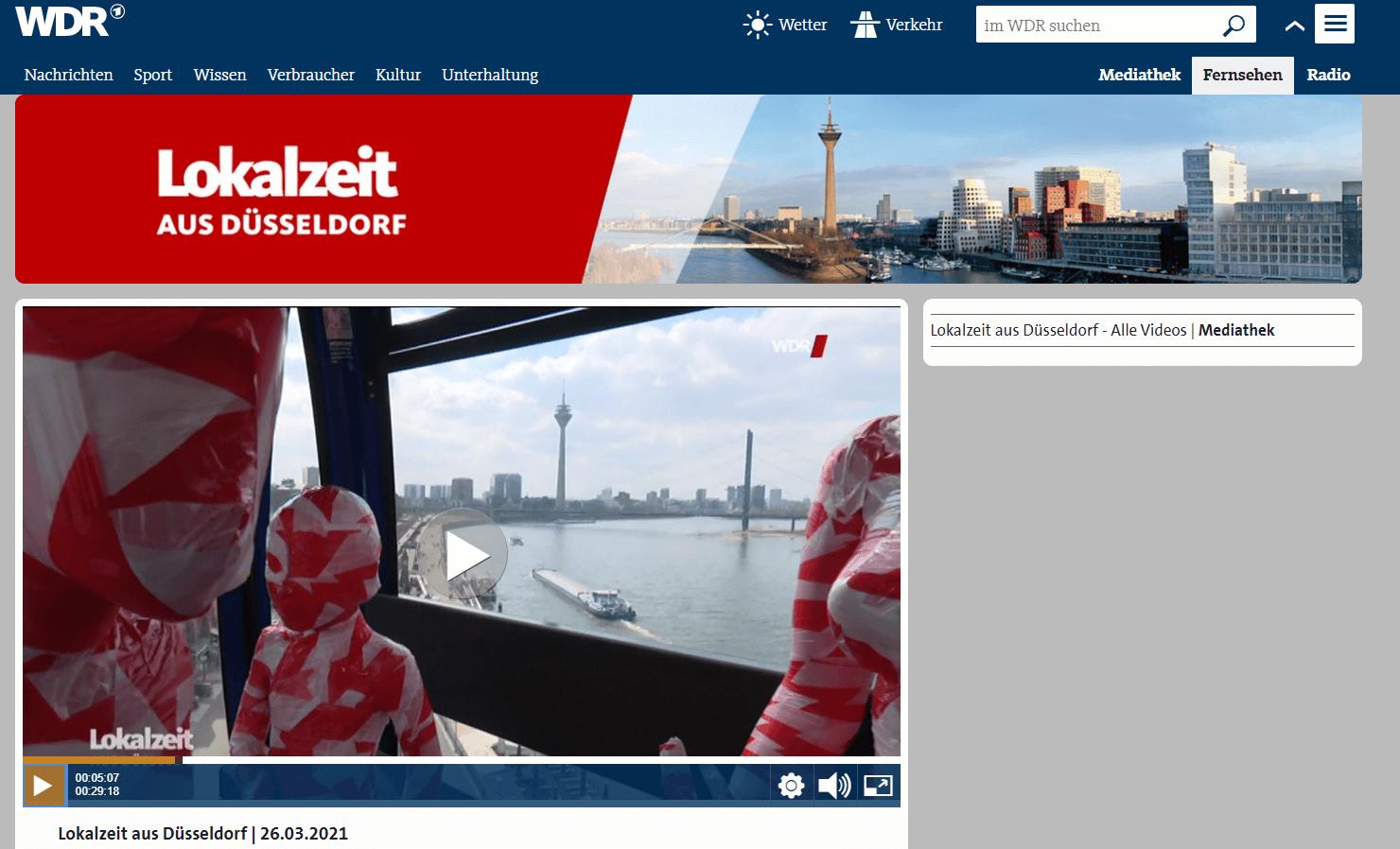 Lokalzeit Düsseldorf 26-03-2021