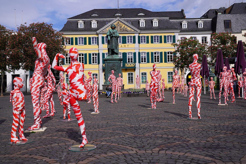 Installation It is like it is Geburtstag in Bonn