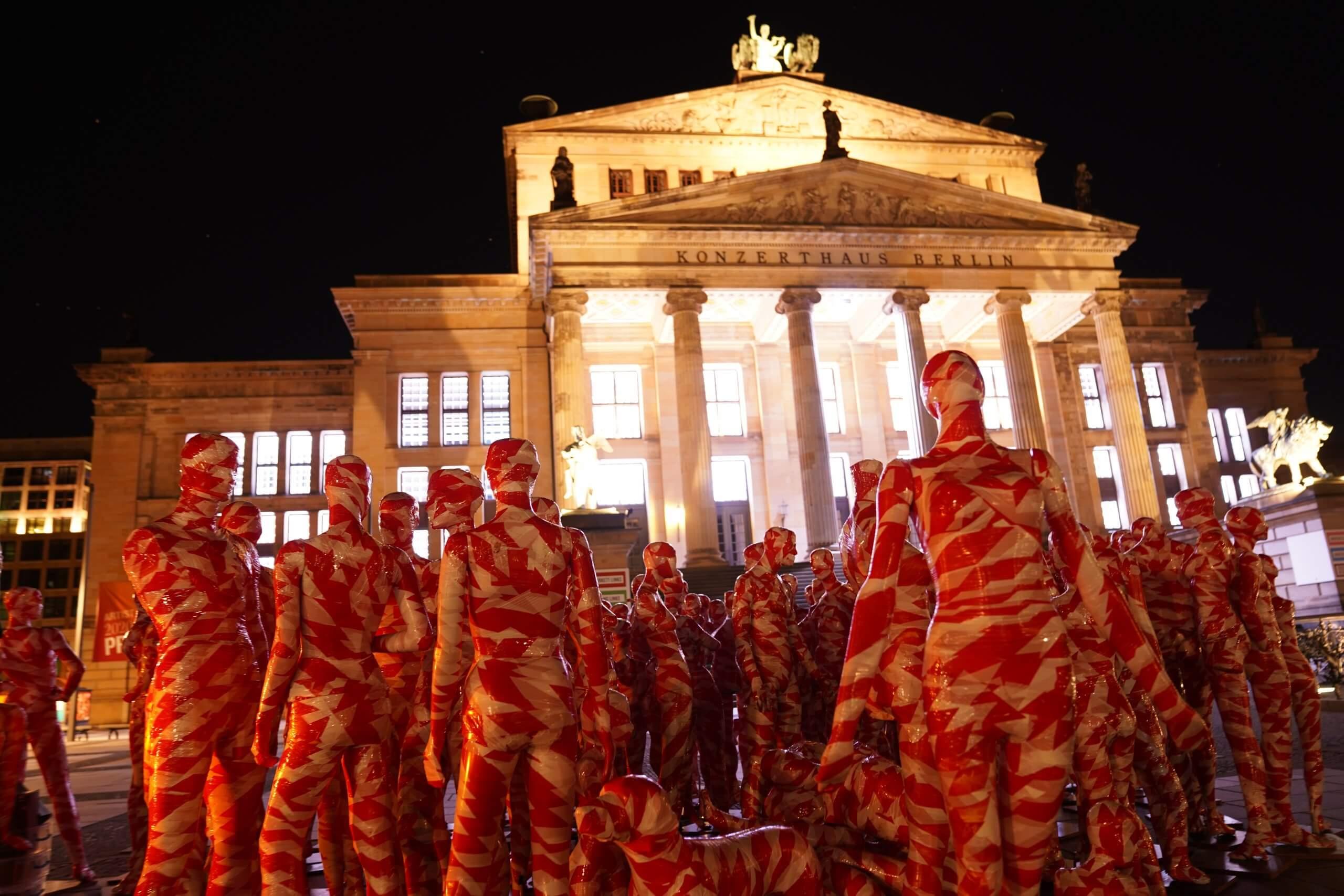 Installation It is like it is Gendarmenmarkt Berlin Konzerthaus Berlin