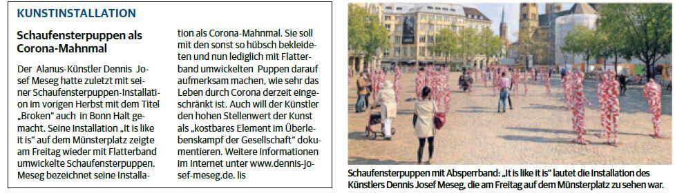General-Anzeiger - Bonner Stadtanzeiger Bonn, Hardtberg vom 03.05.2021