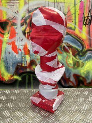 Torso No. 4 It is like it is Installation Dennis Josef Meseg