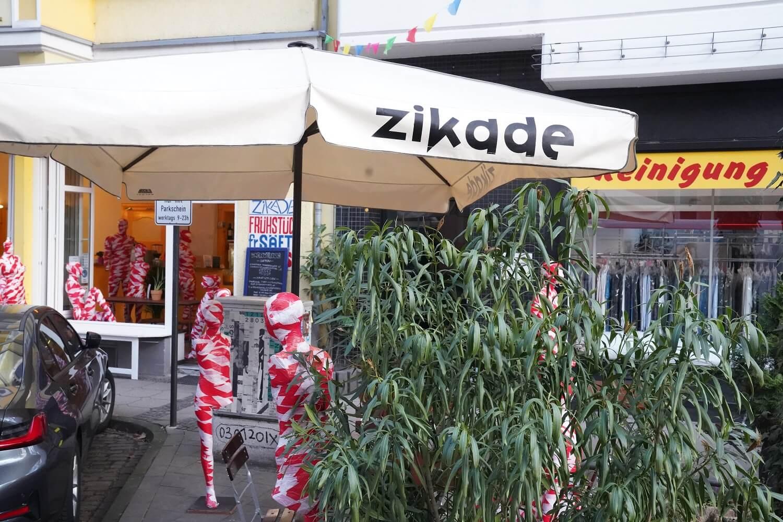 Cafe Zirkade Köln Installation It is like it is