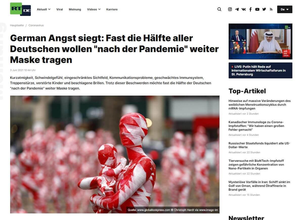 German Angst siegt
