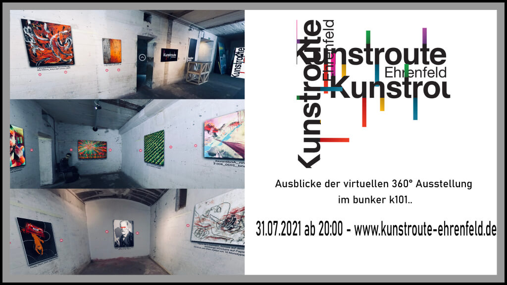 Logo Kunstroute Ehrenfeld 2021